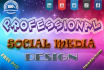 professional Design Social Media,Facebook,Linkedin,Youtube,Header,Cover
