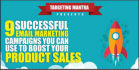 create a successful email marketing and campaign