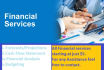 assist you in financial services