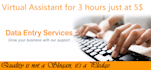 3 hours data entry services,PDF to excel or word and copy paste work