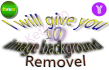 do 10 image Background remove