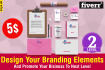 design branding elements and promote your business to next level
