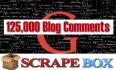 125,000 Bulk SEO Comments Backlinks with Scrapebox Blast