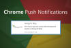 add push notification to any website