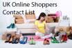 list of online UK shoppers