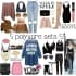 create 5 professional polyvore sets for your store