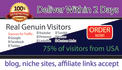 drive targeted website,traffic visitors