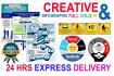 create Full Colour  Infographic