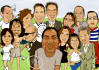make a Lovely Cartoon Some Caricature Style
