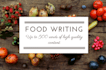 write original, high quality food and drink content