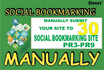manually submit Site to 30 Social Bookmarking Site Pr3toPr9