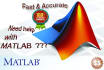 do Matlab Assignments, Labs Tasks, Projects and Home Works