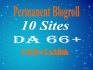 give your homepage niche 10xDA66 blogroll link