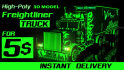 sell my freightliner truck 3D model with texture