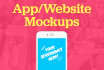 create STUNNING mockups of your app or website in 12 hours