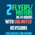 do 2 Flyer Or Poster Designs In 12 Hours UNLIMITED Revisions