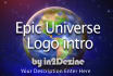 create an epic universe logo intro for your business video