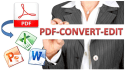 convert pdf to word or ppt
