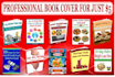 create Professional ebook 3D covers