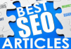 write a 500 word original SEO Article and Web contents