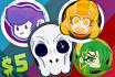 draw you in a custom cartoon, chibi, anime art sticker style