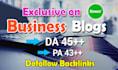 guest post in 45 DA Hq Business blog