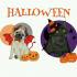 puppy halloween costumes, puppy cartoon