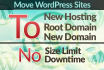 move or transfer or clone your WordPress site
