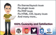 create or fix any php, html, css, html5, javascript, python, ajax, java code