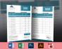 design OUTSTANDING Invoice, Letterhead, Envelop or Postcad
