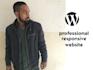 create complete responsive wordpress website