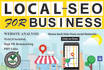 rank your local business website with SEO