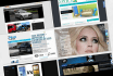 create a responsive modern website for any purpose