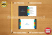 design awesome  business card and letterhead for you