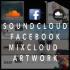 soundcloud, Mixcloud And Facebook Graphic Work