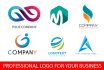 create beautiful logo for your business