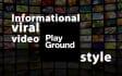 create a facebook informational viral video