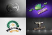 design 2 outstanding logo for your company