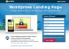 design attractive landing or squeeze page