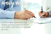 write 500 words well quality article in 24 hours