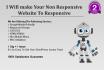 make your wordpress website responsive