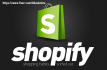 create a shopify website or shopify design
