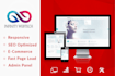 design a fully responsive website with modern design