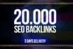 create, gsa,backlinks for seo