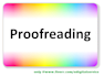 accurately proofread and edit any document in 24 hours