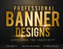 make AMAZING banner,web banner,Header or Social media design