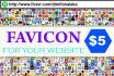 create an awesom FAVICON for your website