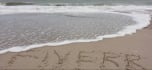 create Your Message Being Washed Away On The Beach