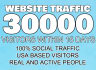 drive over 30k website,visitors to your website or blog for seo rank