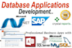 any SQL database or Access database work for you